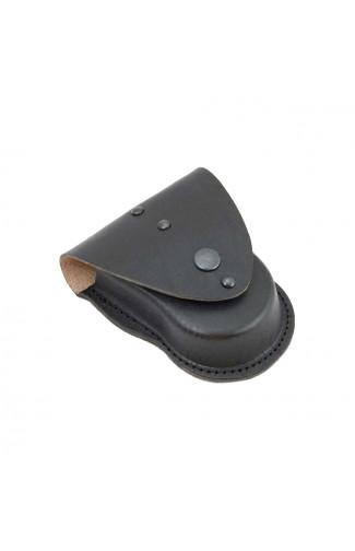 Чехол для наручников БРС кожаный черный