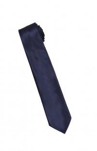 Галстук мужской классический синий