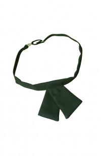 Галстук бант женский зеленый