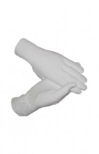 Перчатки белые парадные