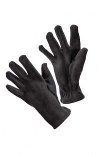 Перчатки флисовые черный