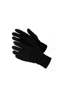 Перчатки мужские вязаные п/ш черный