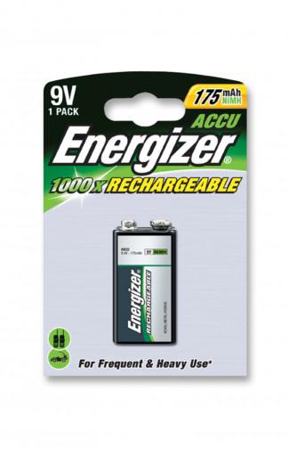 Аккумулятор  Energizer 9 V HR 22 175 mAh NiMH