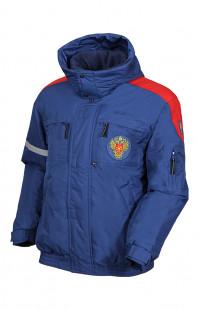 Куртка ФМБА утепленная с капюшоном