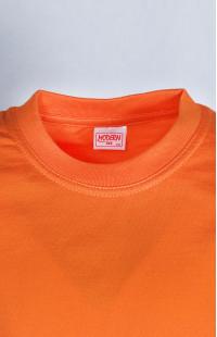 Футболка детская трикотажная х/б оранжевый