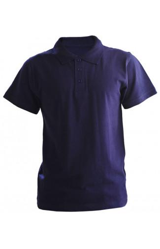 Рубашка поло хлопок темно-синий