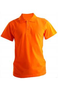 Рубашка поло хлопок оранжевый