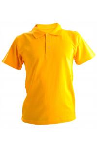 Рубашка поло хлопок желтый