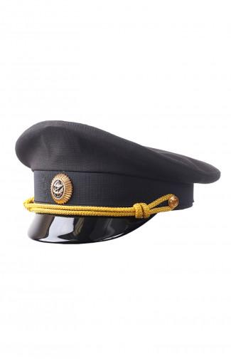 Фуражка офицера повседневная рип-стоп черный