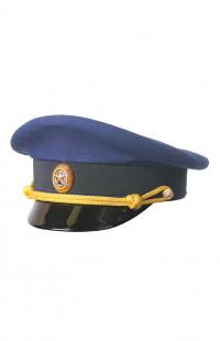 Фуражка офицера повседневная рип-стоп синий