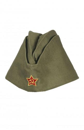 Пилотка военного образца 1941-1945 г.