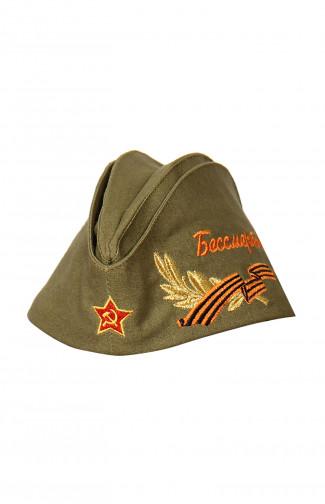 1058 Пилотка военного образца Бессмертный полк