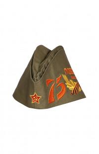 Пилотка военного образца Победа! 75 лет