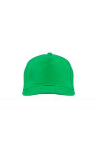 Бейсболка классик х/б зеленый