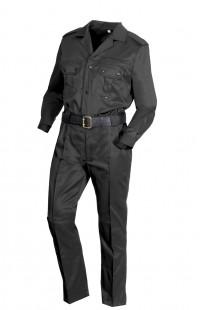 Костюм для охраны мужской смесовая черный