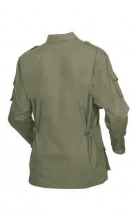 Куртка полевая смесовая рип-стоп хаки