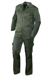 Костюм охранника летний мужской смесовая зеленый