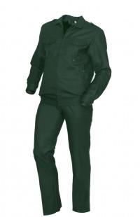 Костюм для охраны п/ш зеленый
