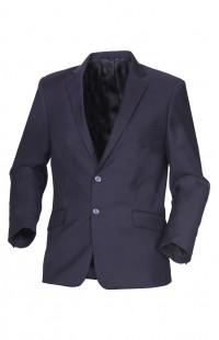 Пиджак офисный мужской п/э тёмно-синий