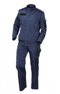 Костюм охранника мужской рип-стоп синий