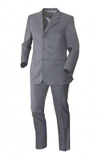 Костюм классический офисный мужской п/ш серый