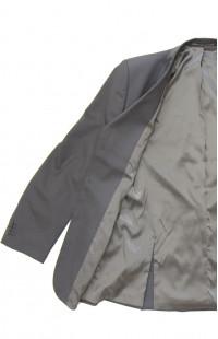 Пиджак классический офисный мужской п/ш серый