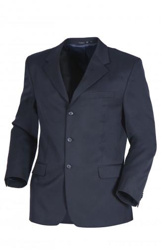 Пиджак классический офисный мужской п/ш темно-синий