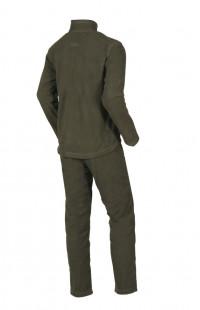 Детский утепляющий костюм хаки