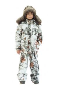 """Детский зимний костюм """"Солонец"""" камуфляж"""