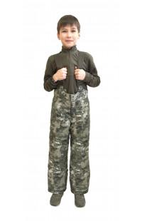 Детский зимний костюм Солонец камуфляж