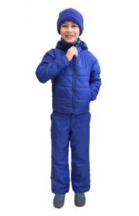 Детский демисезонный костюм синий