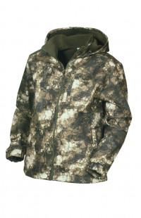 Куртка демисезонная ЗАРЯ двухслойный камуфляж зеленый
