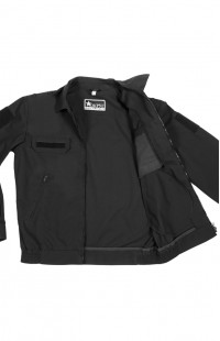 Куртка форменная рип-стоп черный