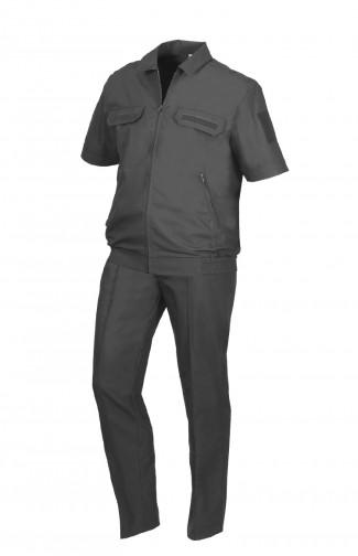 Костюм форменныйс коротким рукавом рип-стоп черный