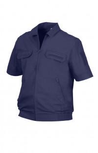 Куртка форменная с коротким рукавом рип-стоп синий