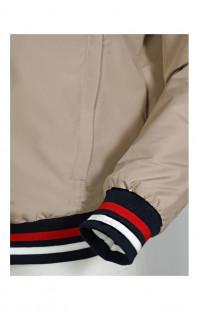 Куртка-бомбер мужская п/э бежевый