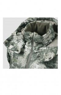 Куртка детская зимняя Lokker камуфляж хаки