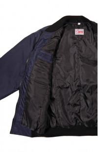Куртка утепленная укороченная п/а синий