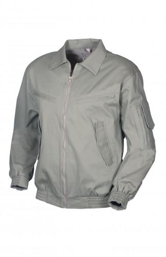 Куртка-ветровка полетная твил смесовый светло-серый