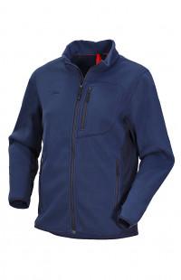 Куртка мужская флис синий