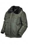 Куртка зимняя со светоотражающим кантом п/а олива