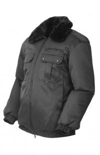 Куртка зимняя укороченная смесовая