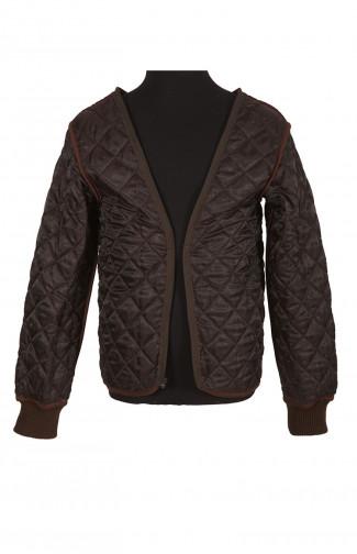 Подстежка стеганая к куртке кожаной Ретро коричневый