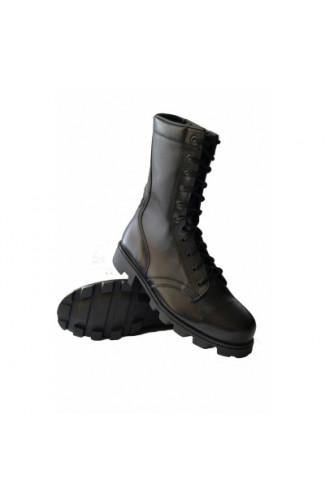 Ботинки армейского типа демисезонные черные