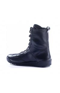 Ботинки мужские демисезонные кожа черные