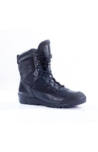 Штурмовые ботинки городского типа нат.кожа черные