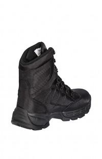 Ботинки треккинговые высокие на мембране черные
