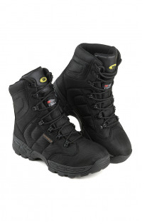Ботинки высокие на мембране черные