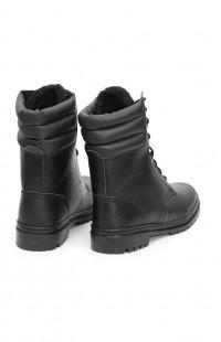 Ботинки зимние ОМОН м.М1 нат.кожа черный