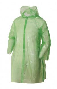 Плащ-дождевик полиэтиленовый зеленый